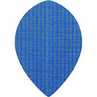 Designa Stoff Nylon Dart Flights–Pear Blau–5sets (15)–inklusive Darts Ecke gebogen Kugelschreiber