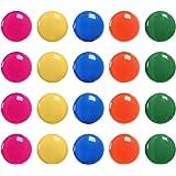 Meetory 20x Tableau d'Affichage/planification Aimants–réfrigérateur Tableau blanc Bouton magnétique, 30mm, cinq Couleurs assorties aléatoire