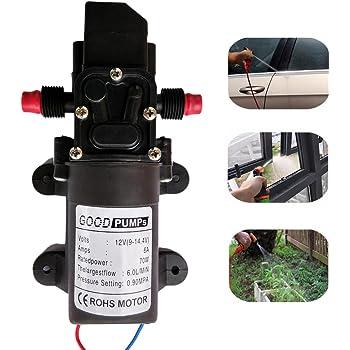 Zology, membrana auto adescante ad alta pressione, pompa ad acqua per lavaggio auto o barca, pulizia e irrigazione giardino