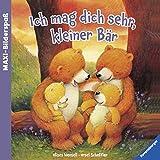 Maxi-Bilderspaß: Ich mag dich sehr, kleiner Bär