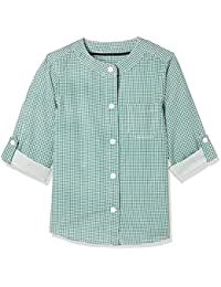 Marks & Spencer Baby Boys' Checkered Regular Fit Shirt