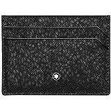 Montblanc Sartorial Credit Card Case, 10 cm, Black (Schwarz)