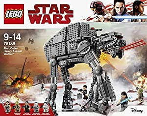 LEGO 75189 First Order Heavy Assault Walker Construction Toy from LEGO