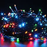 #8: MJR 42 Foot MULTI COLORED LED DECORATION LIGHT WITH CHANGER FOR DIWALI,CHRISTMAS(15 M)