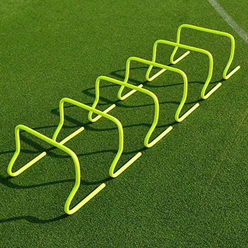 FORZA Speed/Agility Training Hürden (6er-Set) - Multi-Sport Trainingshilfe - wählen Sie Ihre Größe aus (30cm)