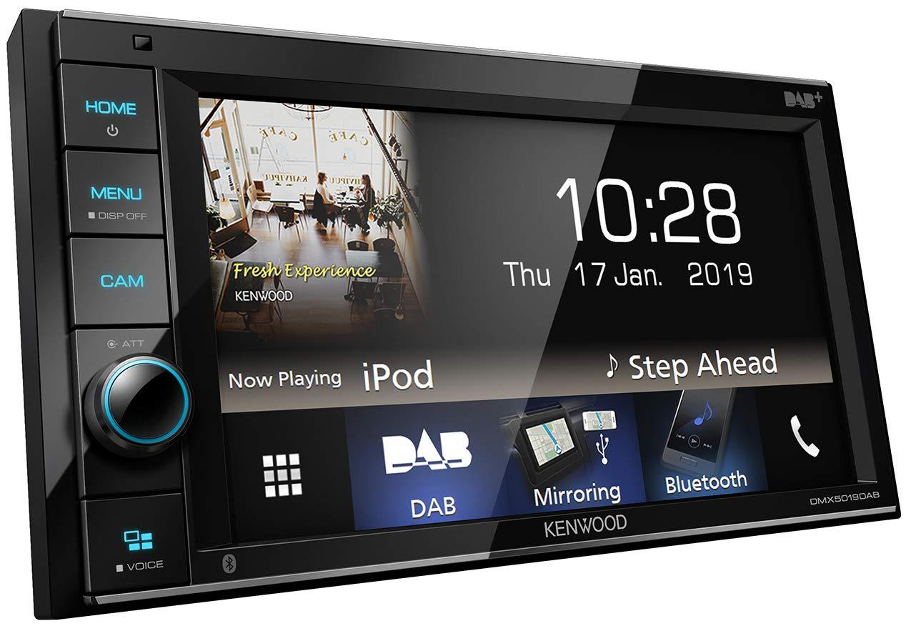 Kenwood-DMX5019DAB-157-cm-WVGA-Digital-Media-Receiver-mit-DAB-Android-USB-Mirroring-Bluetooth-und-Dual-USB