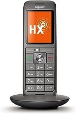 Gigaset CL660HX Telefon - Schnurlostelefon/Mobilteil - TFT Farbdisplay/Freisprechen / Grosse Tasten - IP Telefon - schnurlos/VoIP - Router kompatibel - anthrazit