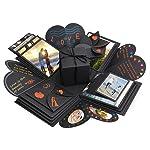 Komake Überraschung Box, Explosion Box, DIY Geschenk Scrapbook und Foto-Album für Weihnachten/Valentine/Jahrestag...
