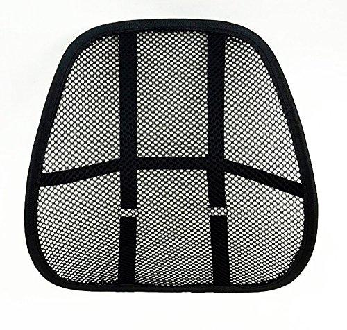 Preisvergleich Produktbild buenoway LORDOSENSTÜTZE mit einstellbaren Krümmung! Rückenstütze Rückenkissen für Autositz oder Bürostuhl
