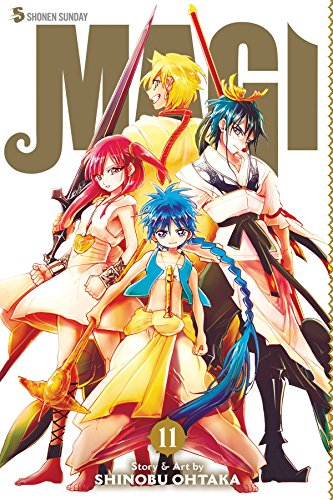 Magi: The Labyrinth of Magic, Vol. 1 Cover Image