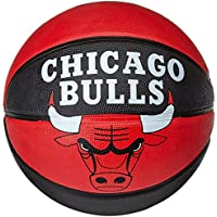 Spalding 3001587011315 - Palla da basket Chicago Bulls, colore Multicolore 5