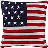 GEFÜLLT, STARS AND STRIPES, AMERIKANISCHE FLAGGE, CHENILLE, 45.72 CM, ROT/WEISS/BLAU