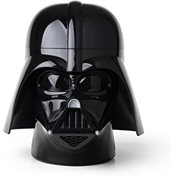 STAR WARS Darth Vader Storage Head, Tinta Unita, Colore Nero, 19.1x4.7x18.4 cm RCL Sh DV