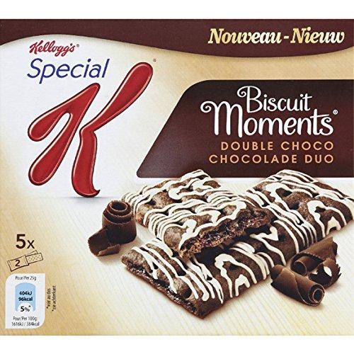 spécial k Biscuit moments double choco, chocolade duo - ( Prix Unitaire ) - Envoi Rapide Et Soignée