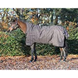 Pferde Winterdecke Horseware Rhino Wug (Regendecke) 160cm 200g Füllung Chocolate with Cream check with Chocolate