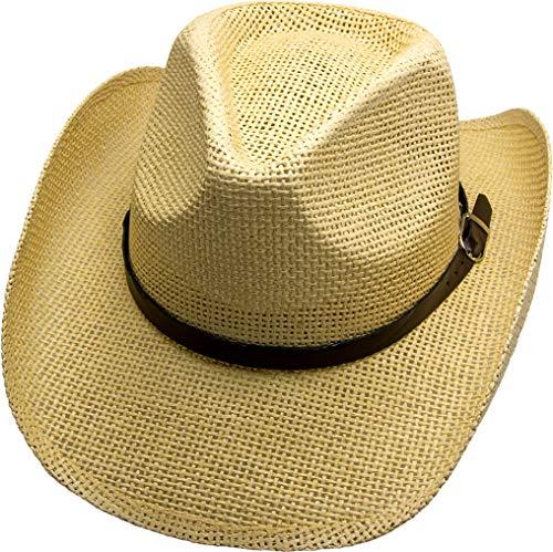 Running Bear Cowboyhut James Dean Cowboy Hut - Gr. L 57-59 cm Westernhut Wild West Line Dance Kleidung (Wild Wild West Kleidung)