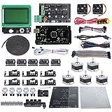 SainSmart Ramps 1.4 + Mega2560 R3 + LCD12864 + A4988 + J-head 3D Printer Kit for Arduino RepRap