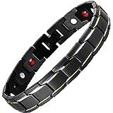 Vyaaa, braccialetto da uomo per terapia magnetica, sollievo dal dolore per artrite, strumento di rimozione regolabile, 21,6 c