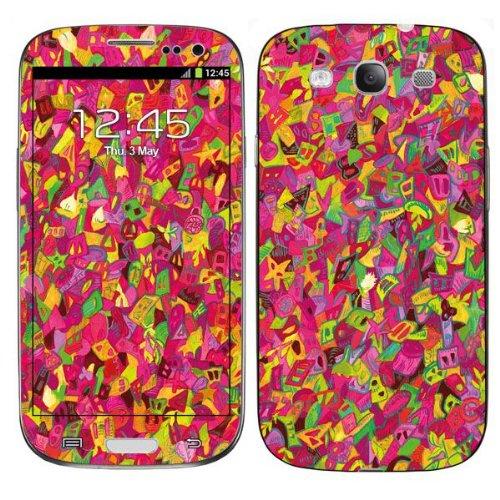 Diabloskinz H0026-0043-0003 pink Buttons Schutzhülle für Apple iPhone 4/4S
