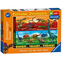 Ravensburger Extreme Dinosaurs, 60pc Giant Floor Jigsaw Puzzle