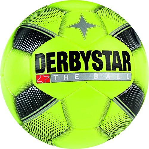 iniball, Ball Größe 1 (Umfang 47 cm), gelb schwarz silber, 4254 (Soft-soccer-ball)