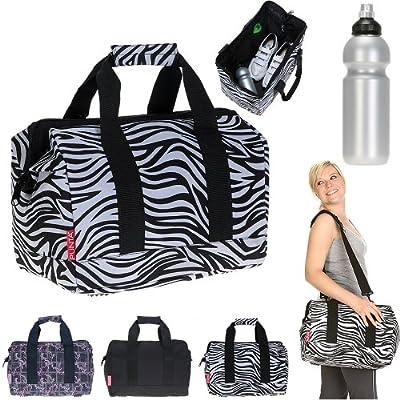 PUNTA® Sporttasche DOCTOR GYM Sport Tasche + Trinkflasche 0,7 Liter CO² fähig