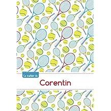 Le cahier de Corentin - Séyès, 96p, A5 - Tennis