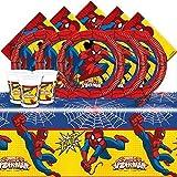 Marvel bpwfa-102Ultimate Spiderman–Set da tavola per 16