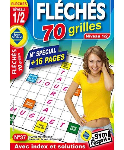 Fléchés 70 grilles Niveau 1/2 Niveau 1/2 par sportcerebral
