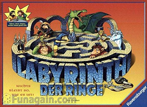 Ravensburger 26166 - Labyrinth der Ringe - Glücksspiel-ring