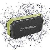 Darkiron K6 Bluetooth Lautsprecher Wasserdicht Tragbarer IPX6 Lautsprecherbox mit Verstärktem Bass...