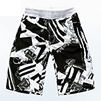 PZLL Rapide-séchage plus shorts de plage taille fashion, surf hommes sports shorts