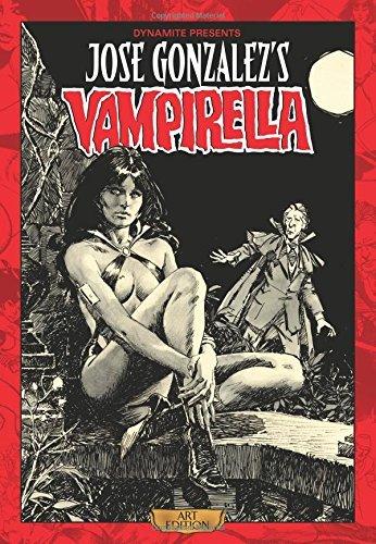 Jose Gonzalez Vampirella Art Edition (Jose Gonzalezs Vampirella) by Bill DuBay (2016-06-09)