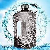 Shenron Diamonds Water Bottle Bpa Free 2.2L Large Capcity Shaker Protein Plastic Sport