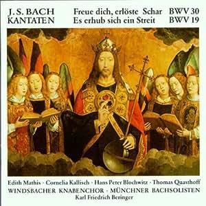 KANTATEN(BWV3-, BWV19)/FREUE DICH,