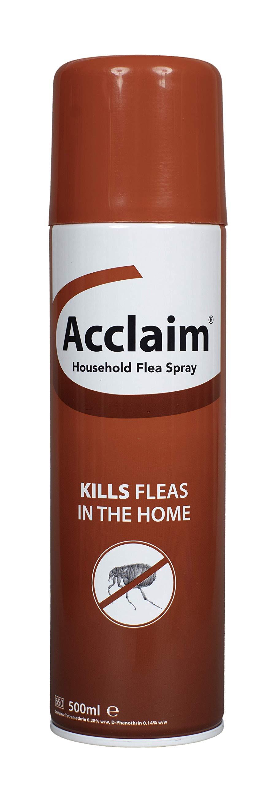 Acclaim Household Flea Spray, 500ml Aerosol