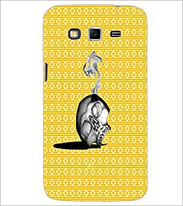 PrintDhaba Skull D-4372 Back Case Cover for SAMSUNG GALAXY GRAND 2 (Multi-Coloured)
