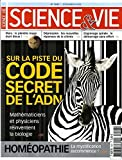 science et vie no 1047 du 01 12 2004 sur la piste du code secret de l adn homeopathe la mystification recommence mars la planete rouge etait bleue depression les nouvelles reponses de la chimie engrenage spirale le demarrge sans effort
