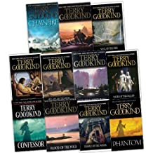 Terry Goodkind Sword of Truth 11 Books Collection Pack Set RRP: £103.58 (Confessor, Chainfire, Phantom, Soul Of The Fire, The Pillars of Creation, Faith Of The Fallen, Debt of Bones, Temple Of The Winds, Blood Of The Fold , Wizard''s First Rule, Stone Of Tears)