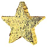 Amscan P70026 Gold Foil Star Pinatas Toy
