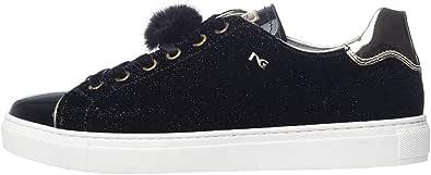 Nero Giardini A806642D Sneakers Donna in Tela E Vernice