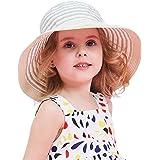 DRESHOW Unisexo Bebé Niña Niño Sombrero de Sol Verano Algodón Ajustable Pescador Gorra Protección de Sol Anti UV Para Exterio