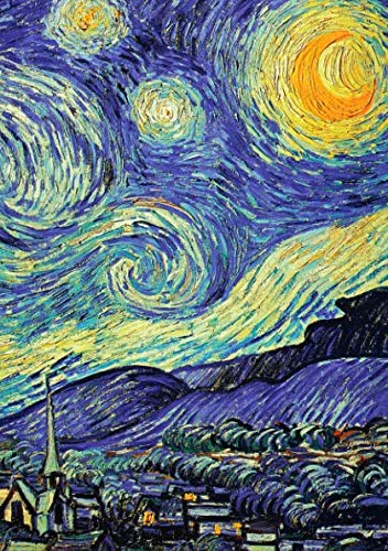 Libretas Van Gogh: Libreta Dina 5, Libreta Rayada, Libreta Rayada A5, Blogs y Cuadernos de Notas - Libreta Van Gogh #3 - Tamaño: A5 (14.8 x 21 cm) - ... pequeña,libretas bonitas,notizbuch,libreta) por Prime Publishing