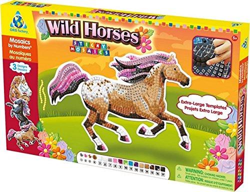 HQ Windspiration Orb Factory 620862 - Sticky Mosaics: Wild Horses (Ausverkauf Spielzeug)