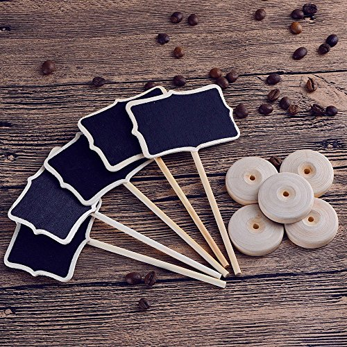 Mini Kreidetafeln | 10 Stück