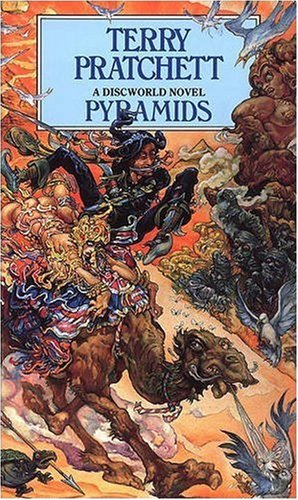 Cover of Pyramids (Discworld 7)
