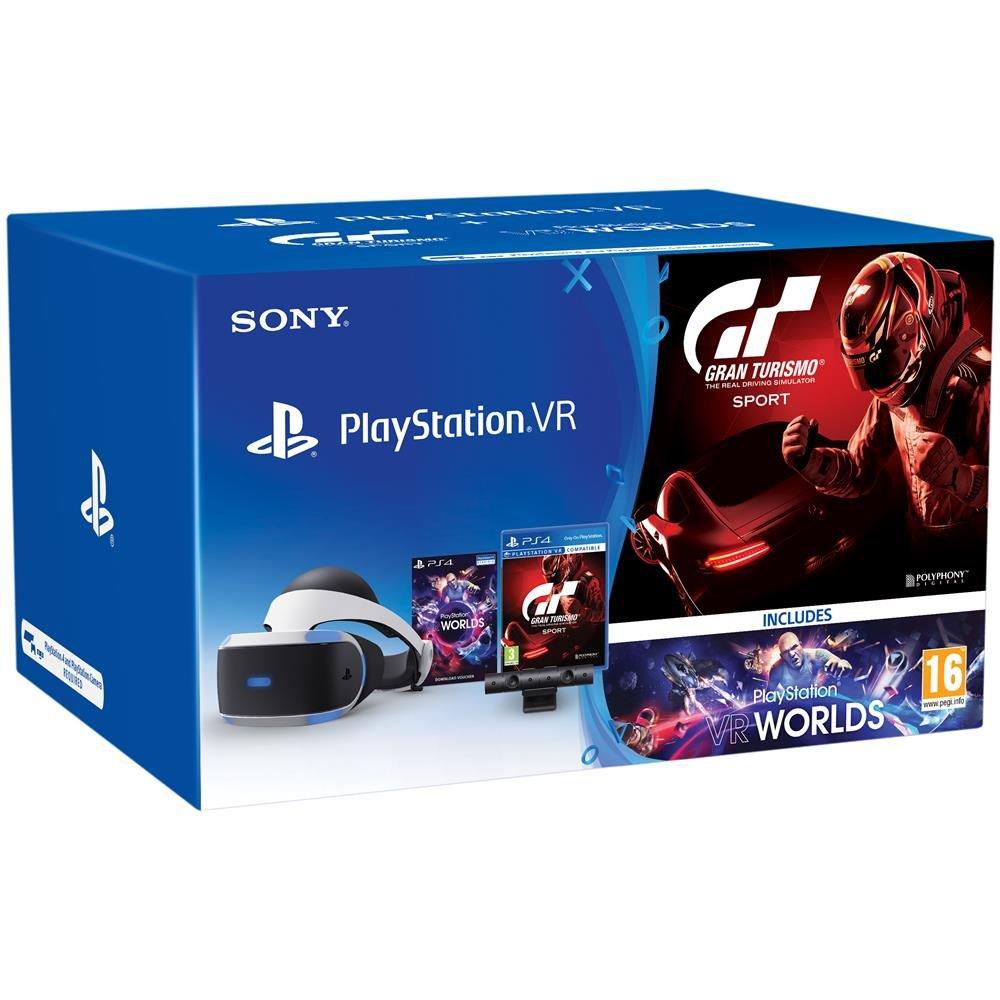 Sony Playstation VR INCL. Kamera/VR Worlds/ GT Sport