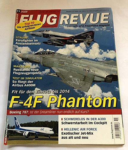 Flug Revue Nr 11 2009 F-4F -Phantom