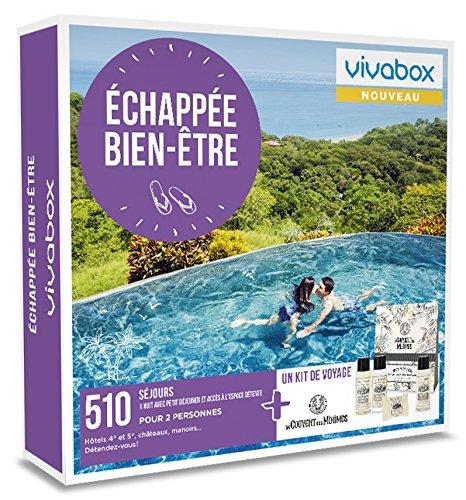 Vivabox - Coffret cadeau couple - ECHAPEE BIEN-ÊTRE - 510 week-ends bien-être + 1...