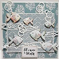 wiFndTu Fish Metal Cutting Dies for Card Making, Embossing Stencil Die DIY Scrapbooking Photo Templates for Album Embossing Paper Cards Decorative Craft for Valentine